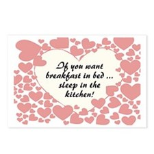 Breakfast In Bed Postcards (Package of 8)