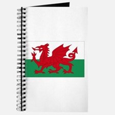 Wales flag decorative Journal