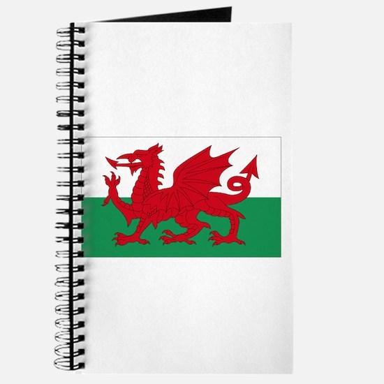 Wales flag decorative Journal