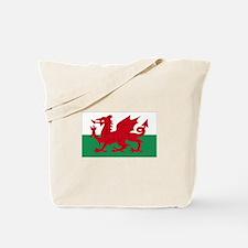 Wales flag decorative Tote Bag