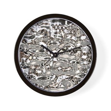 Liquid Metal Wall Clock By Admin Cp57041680