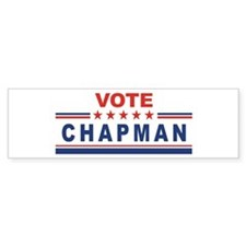 Gene Chapman in 2008 Bumper Bumper Sticker