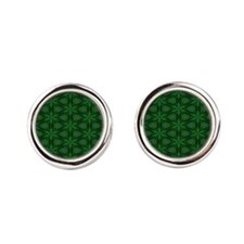 Stadium Blanket Pattern 3 Cufflinks