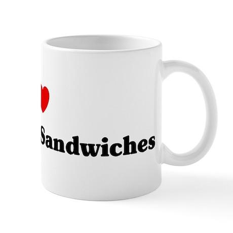 I love Tuna Salad Sandwiches Mug