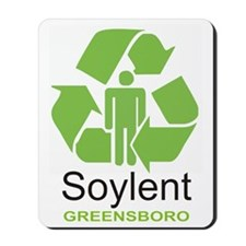 Soylent Greensboro Mousepad