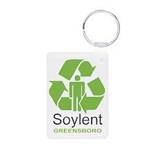 Soylent Greensboro Keychains