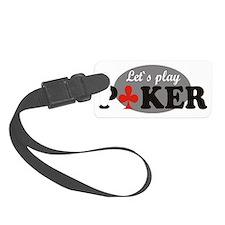 poker Luggage Tag