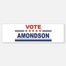 Gene Amondson in 2008 Bumper Bumper Bumper Sticker