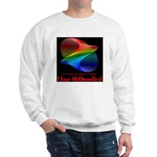 I Love Mathematics Sweatshirt