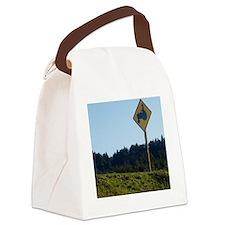 farmerwinelabel Canvas Lunch Bag