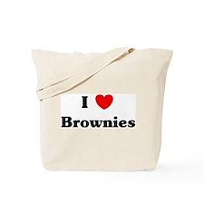 I love Brownies Tote Bag