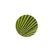 Green Palm Frond Mini Button