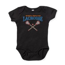 Lacrosse Original Americas Sport Baby Bodysuit