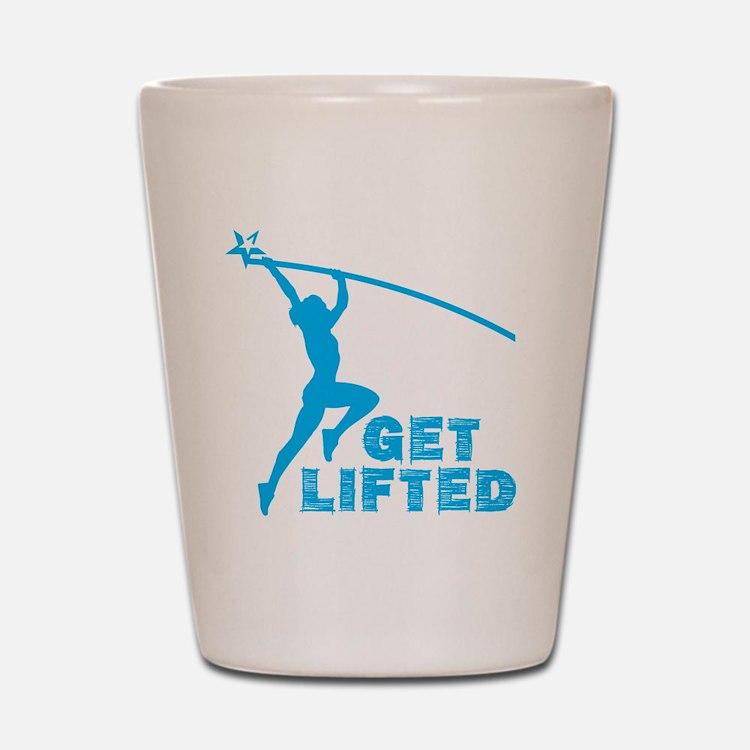 Womens Get Lifted Shot Glass