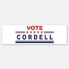 Don Cordell in 2008 Bumper Bumper Bumper Sticker