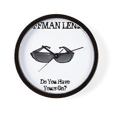 Hoffman Lenses Wall Clock