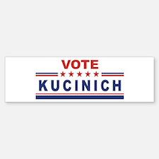 Dennis Kucinich in 2008 Bumper Bumper Bumper Sticker