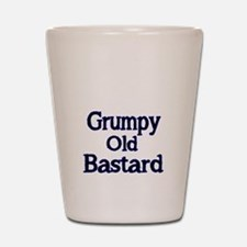 Grumpy old Bastard Shot Glass