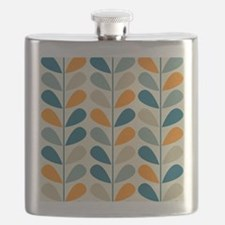 Retro Pattern Flask