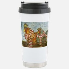 Chickens with Scarves - Travel Mug