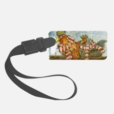 Chickens with Scarves - Laptop S Luggage Tag