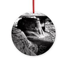Ansel Adams Arizona Canyon Round Ornament