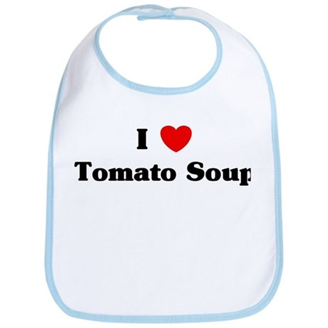 I love Tomato Soup Bib
