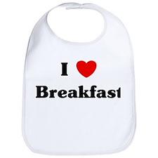 I love Breakfast Bib