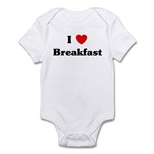I love Breakfast Infant Bodysuit