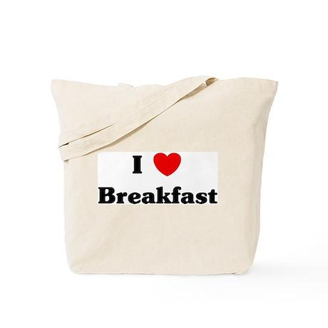 I love Breakfast Tote Bag