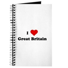 I Love Great Britain Journal