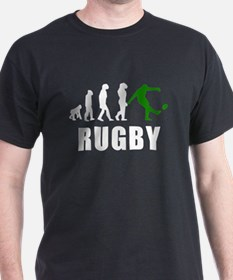 Rugby Kick Evolution (Green) T-Shirt