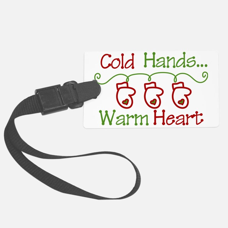 Cold Hands Luggage Tag