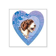 """SWD-heart Square Sticker 3"""" x 3"""""""