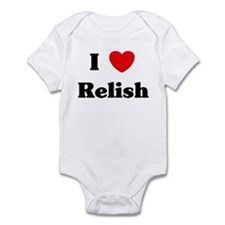 I love Relish Infant Bodysuit