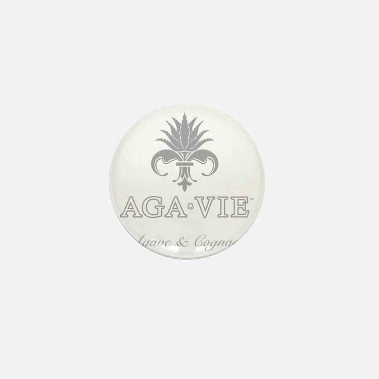 AGA•VIE Logo Mini Button