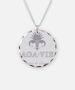 AGA•VIE Logo Necklace