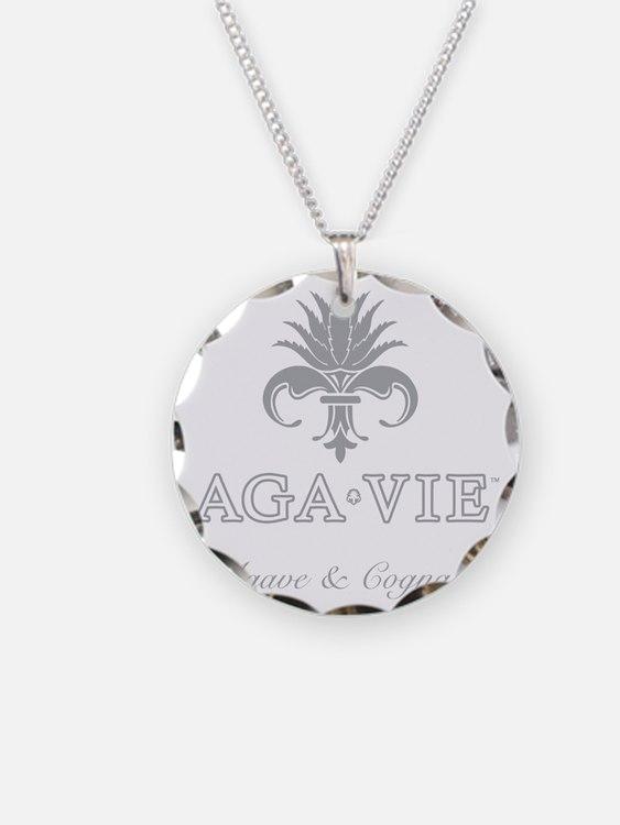 AGA•VIE Logo Necklace