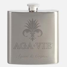 AGA•VIE Logo Flask