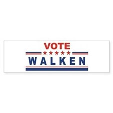 Christopher Walken in 2008 Bumper Bumper Sticker