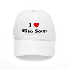 I love Miso Soup Baseball Cap