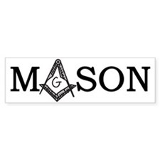 Mason Bumper Sticker