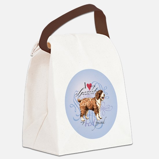 SWD-round Canvas Lunch Bag