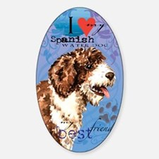 Spanish Water Dog Decal
