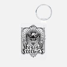 Resist Freebies Keychains