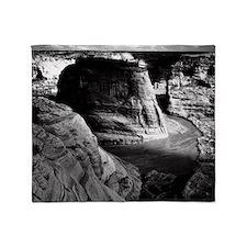 Ansel Adams Arizona Canyon Throw Blanket