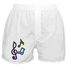 Music Notes Boxer Shorts