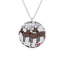 Buck Stops Here Necklace
