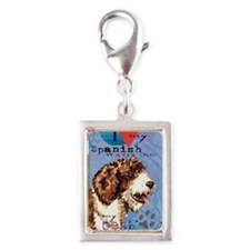SWD-journal Silver Portrait Charm
