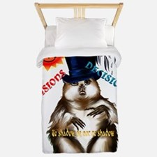 Decisions-Decisions-Groundhog Day Twin Duvet